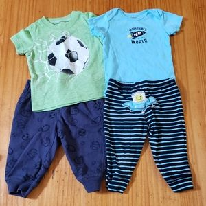 4/$24 - Carter's Matching Sets